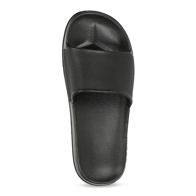 Lehké černé dětské nazouváky coqui, černá, 472-6611 - 17