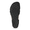 Černé kožené sandály s perličkami bata, černá, 666-6603 - 18