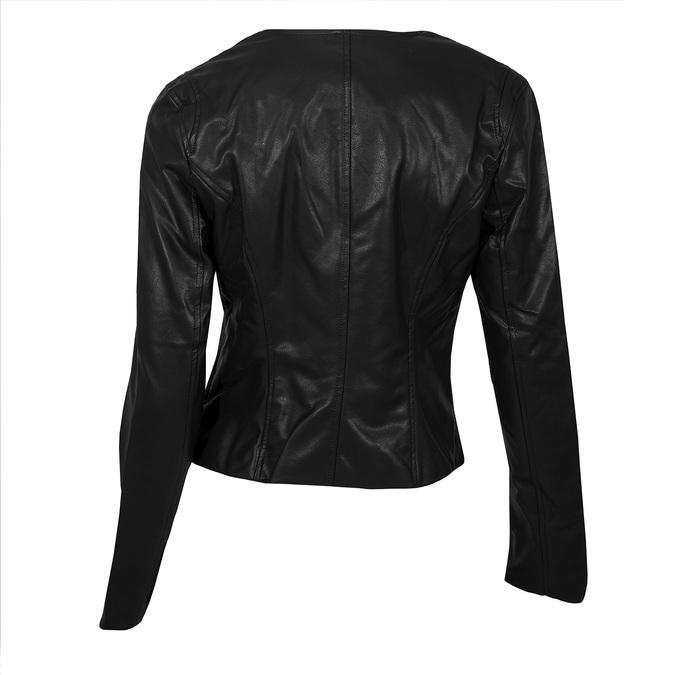 Dámská černá bunda s ozdobnými kamínky bata, černá, 971-6241 - 26