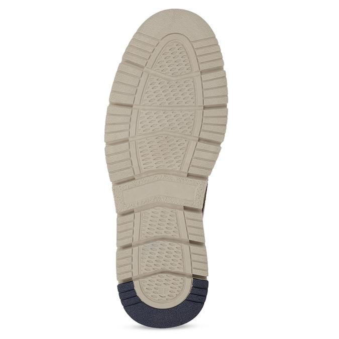 Hnědá pánská kožená kotníčková obuv weinbrenner, hnědá, 846-4658 - 18