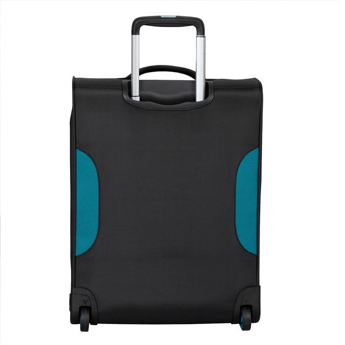 Černý textilní cestovní kufr roncato, černá, 969-6726 - 26