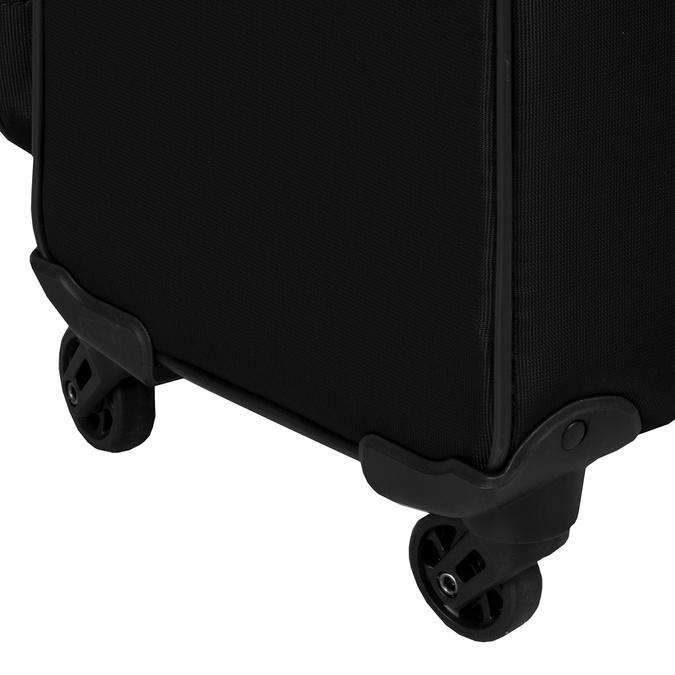 Černý cestovní kufr na kolečkách roncato, černá, 969-6739 - 15