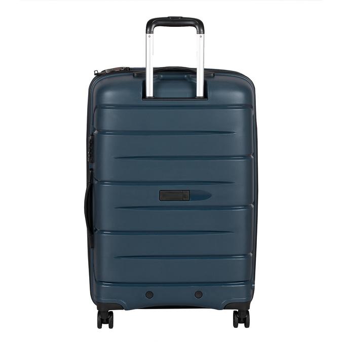 Modrý cestovní kufr na kolečkách roncato, modrá, 960-9617 - 26