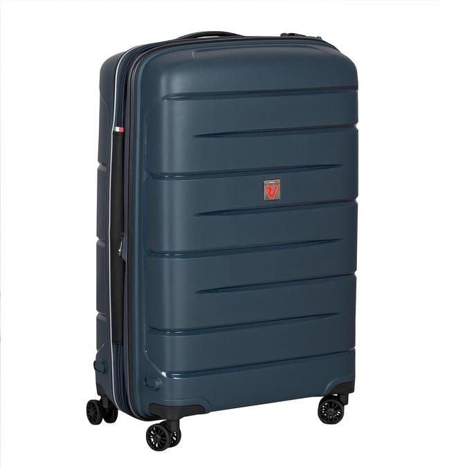 Modrý cestovní kufr na kolečkách roncato, modrá, 960-9617 - 13