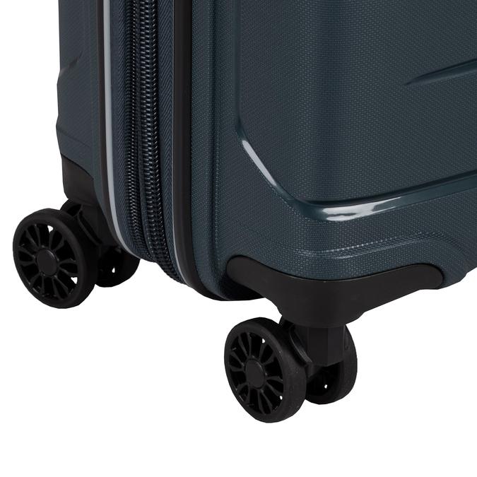 Tmavě modrý kufr na kolečkách roncato, modrá, 960-9616 - 15