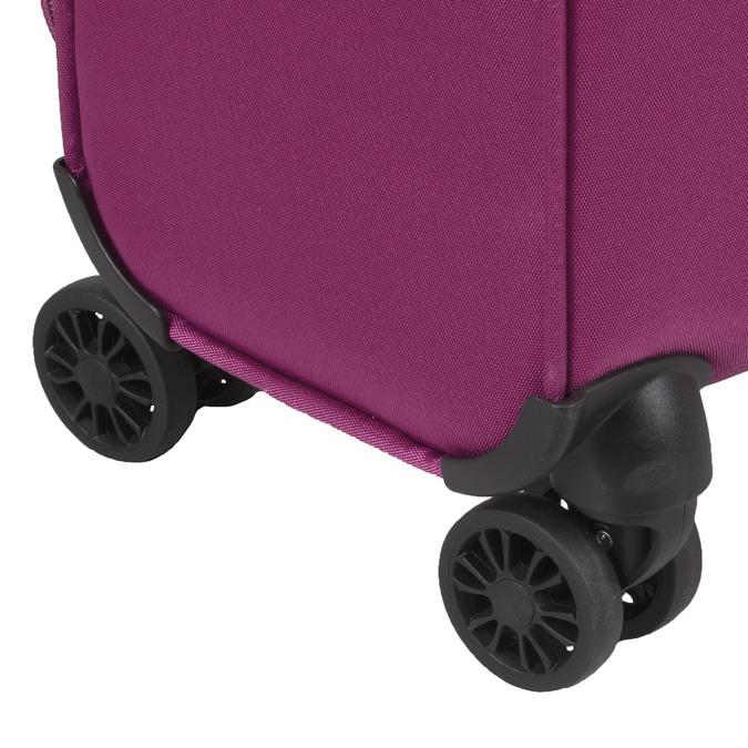 Fialový cestovní kufr na kolečkách american-tourister, růžová, 969-5627 - 15