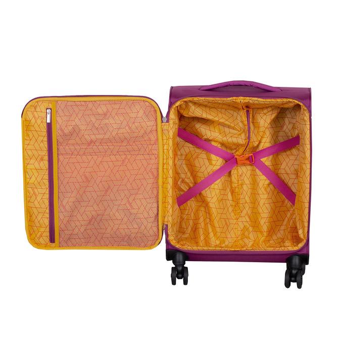Fialový cestovní kufr na kolečkách american-tourister, růžová, 969-5627 - 17