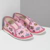 Růžové dětské přezůvky se vzorem bata, růžová, 279-5619 - 26