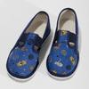 Modré dětské přezůvky se vzorem bata, modrá, 279-9619 - 16