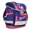 Modrá školní aktovka s růžovými detaily belmil, růžová, 969-5748 - 13