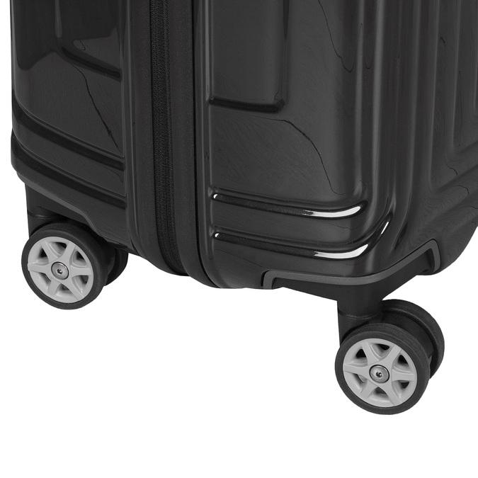 Černý skořepinový kufr na kolečkách samsonite, černá, 960-6033 - 16