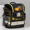 Černá školní aktovka se žlutými detaily belmil, žlutá, 969-8763 - 17