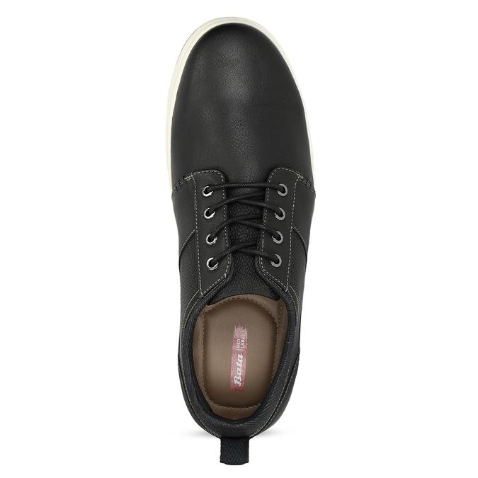 Černé pánské ležérní tenisky bata-red-label, modrá, 841-6779 - 17