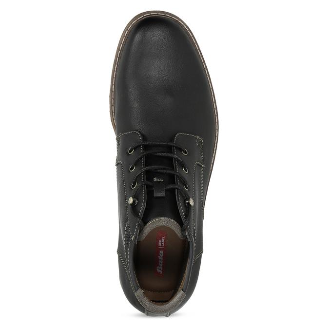 Pánská ležérní kotníčková obuv bata-red-label, černá, 821-6670 - 17
