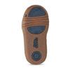 Hnědá dětská kotníčková obuv bubblegummers, hnědá, 111-3721 - 18