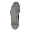 Černá pánská kotníčková obuv s prošitím bata-red-label, černá, 821-6665 - 18
