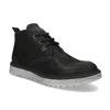 Kotníčková černá kožená pánská obuv weinbrenner, černá, 846-6735 - 13