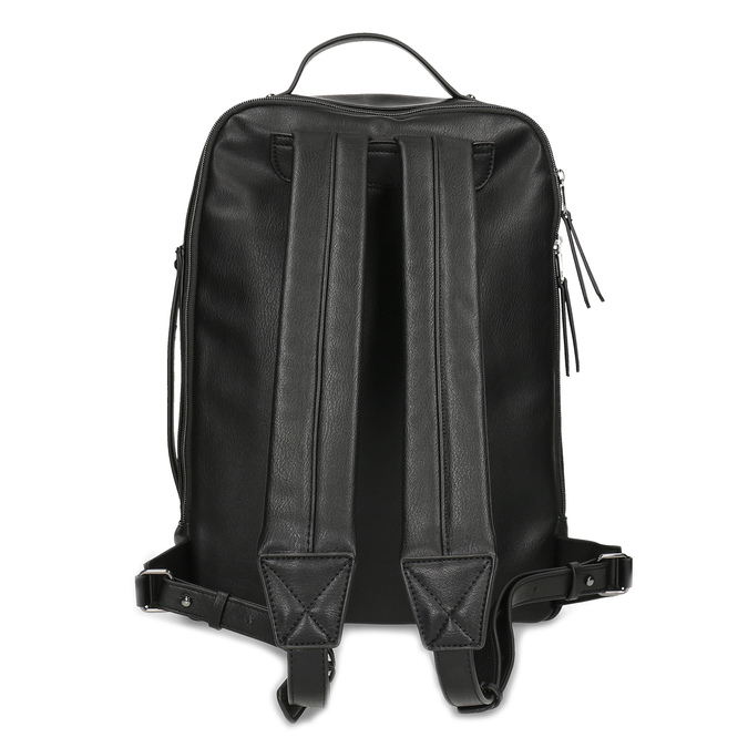 Černý pánský městský batoh bata, černá, 961-6995 - 16