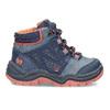 Dětská modrá kotníčková obuv bubblegummers, modrá, 111-9720 - 19