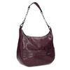Kaštanově hnědá dámská kabelka bata, červená, 961-5987 - 13