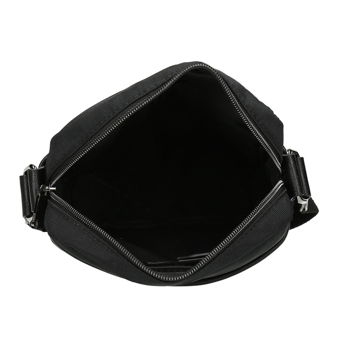 Pánská černá Crossbody taška bata, černá, 969-6793 - 15