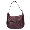 Kaštanově hnědá dámská kabelka bata, červená, 961-5987 - 26