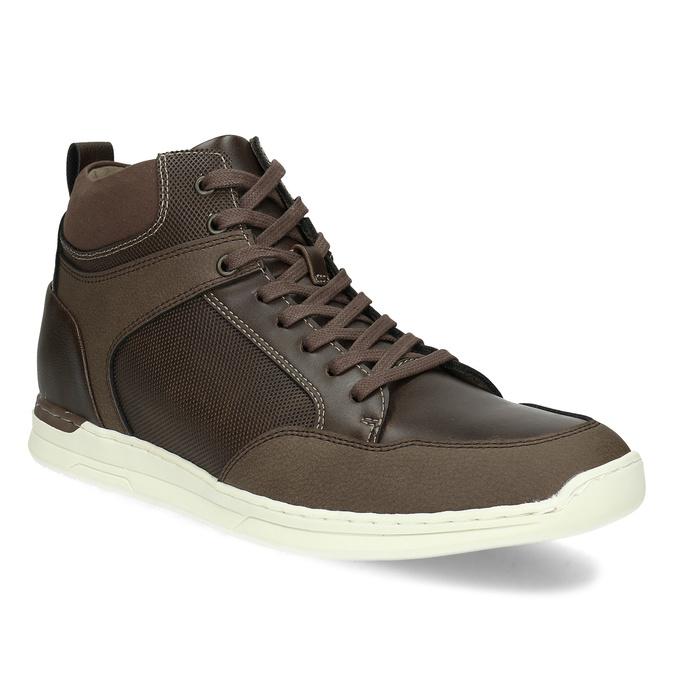 Hnědá pánská kotníčková obuv bata-red-label, hnědá, 841-4783 - 13