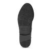 Černé lakované polobotky dámské bata, černá, 521-6601 - 18