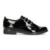 Černé lakované polobotky dámské bata, černá, 521-6601 - 19