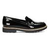 Dámské černé mokasíny lakované bata, černá, 551-6601 - 19