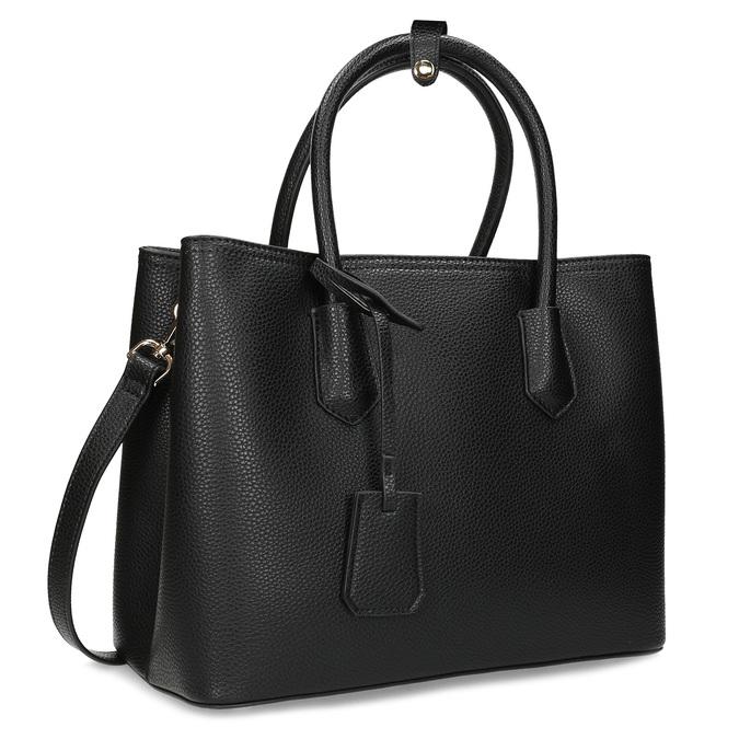Černá dámská kabelka s popruhem bata, černá, 961-6970 - 13