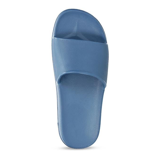 Modré pánské nazouváky se vzorem coqui, modrá, 872-9658 - 17