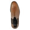 Hnědá pánská kožená Chelsea obuv bata, hnědá, 816-3629 - 17