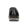 Šedé ležérní polobotky z broušené kůže bata, šedá, 826-2605 - 15