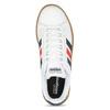 Bílé pánské ležérní tenisky s prošitím adidas, bílá, 801-1163 - 17