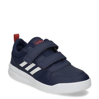 Tmavě modré dětské tenisky na suché zipy adidas, modrá, 301-9270 - 13