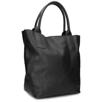 Kožená dámská černá kabelka bata, černá, 964-6221 - 13