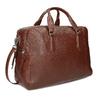 Dámská hnědá kožená taška s popruhem bata, hnědá, 964-3625 - 13