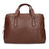 Dámská hnědá kožená taška s popruhem bata, hnědá, 964-3625 - 26