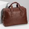 Dámská hnědá kožená taška s popruhem bata, hnědá, 964-3625 - 17