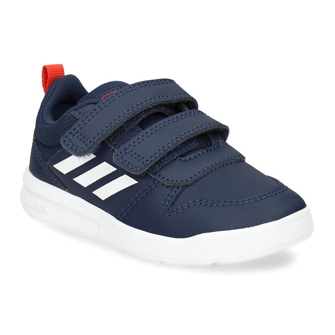 Modré dětské tenisky na suché zipy adidas, modrá, 101-9291 - 13