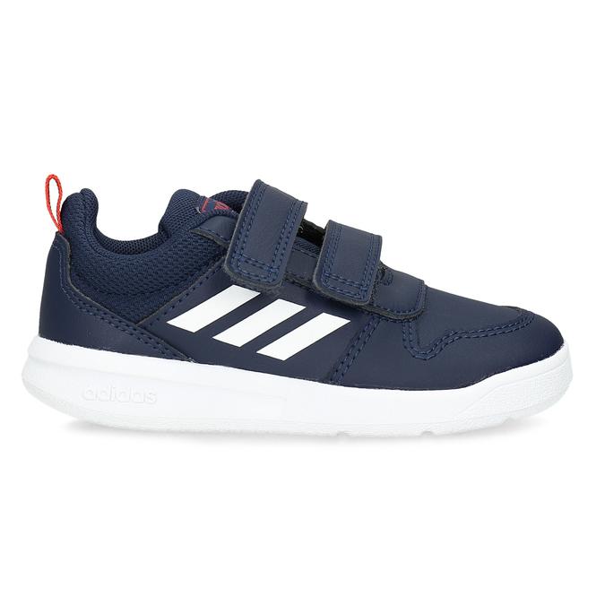Modré dětské tenisky na suché zipy adidas, modrá, 101-9291 - 19