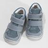 Dětské tenisky z broušené kůže bubblegummers, modrá, 113-9638 - 16