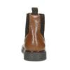 Hnědá kožená kotníčková Chelsea obuv flexible, hnědá, 896-3742 - 15