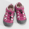 Růžové dívčí sandály outdoorového stylu mini-b, růžová, 261-5706 - 16