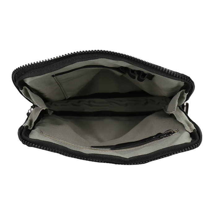 Pánská černá kožená Crossbody taška bata, černá, 964-6614 - 15