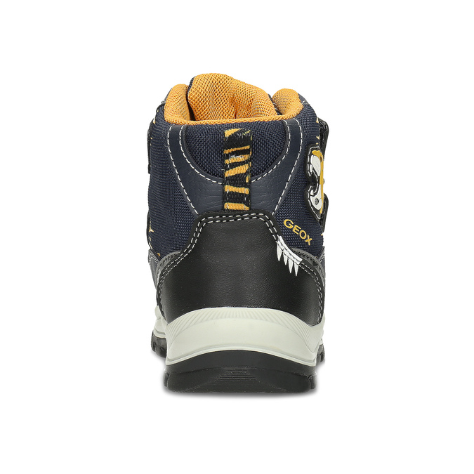 Dětská zimní obuv na suché zipy geox, modrá, 191-9135 - 15