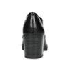 Kotníčkové kožené kozačky se šněrováním flexible, černá, 624-6604 - 15