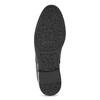 Pánská černá kožená kotníčková obuv conhpol, černá, 894-6602 - 18