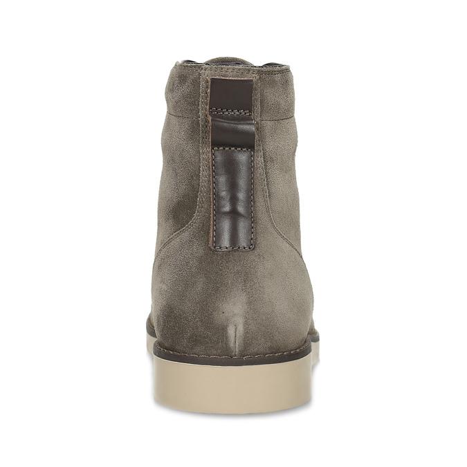 Béžová pánská kožená kotníčková obuv flexible, béžová, 823-8701 - 15
